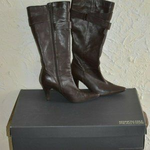KENNETH COLE REACTION Ladies Boots W/ Heels In Box
